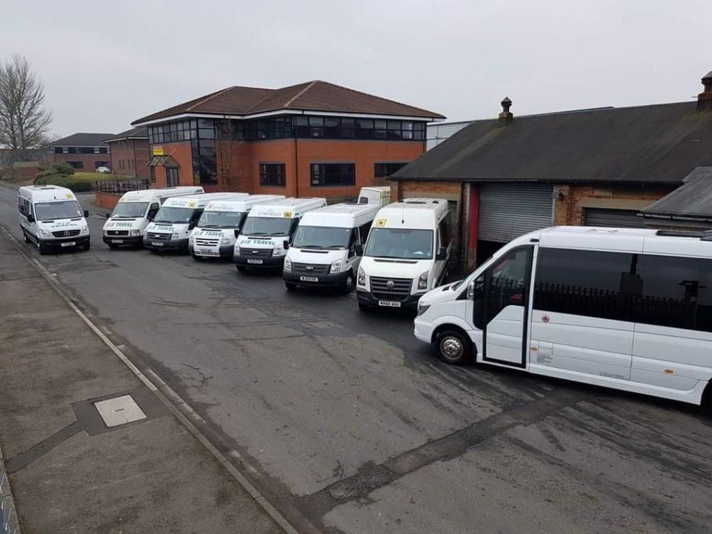 s & s travel minibuses